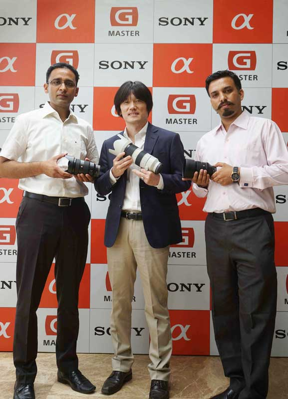 Sony-launches-G-Master™-Brand-of-professional-full-frame-lenses-in-Ludhiana-(1)