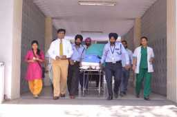 Brain dead youth in PGI gives gift of life to two kidney failure patients in Fortis Mohali