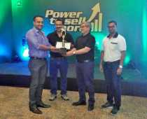Best Dealer Award in Sales achieved by GMP Motors