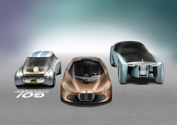 BMW Group VISION NEXT 100 Vehicles (Small)