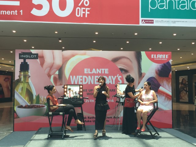 Elante Wednesday's Monsoon Make up Workshop from experts of Delhi Ms Priyanka Rathore & Ms Alem Aeir   (2) (Small)