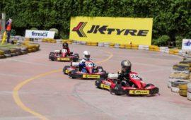 Aaroh Back on top in JK Tyre IndiKarting National Series