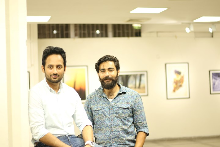 L-R Ankur Patar and Harp Farmer. (Small)