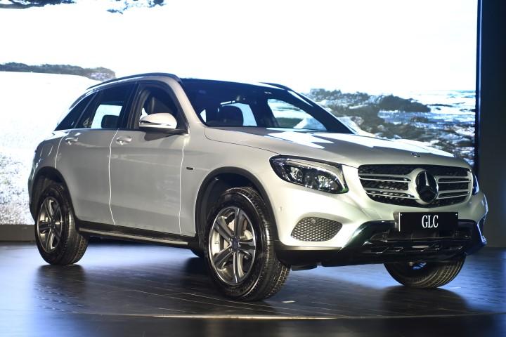 Mercedes-Benz GLC launched in New Delhi (Small)