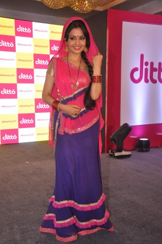Shubhangi Atre at the launch of dittoTV_2 (Small)