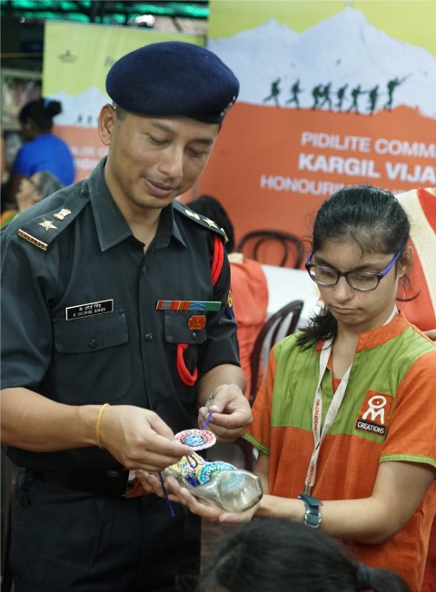 Lt.Col.K.George Singh, C.O.D, Mumbai region (Small)