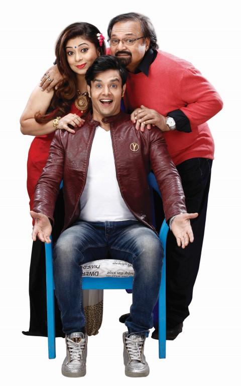 Agarwal Family - Anirudh Dave as YARO, Rakesh Bedi as Govardhan Agarwal & Malini Kapoor as Beena_2 Agarwal (Small)