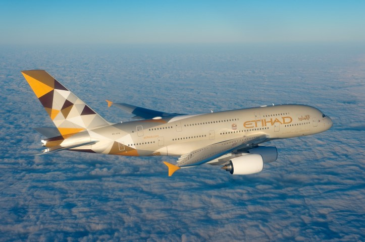 Etihad Airways A380 (Small)