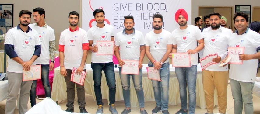 blood Donation camp at GGI copy  (Small)