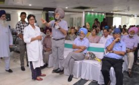 Senior citizens lead the way with Organ Donation pledges