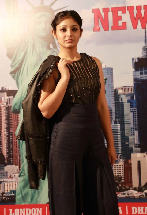 INIFD Designer Student Anupreet Sidhu's Lakme Fashion Week Collection being showcased at INIFD in Sector 8 here (6) (Small)