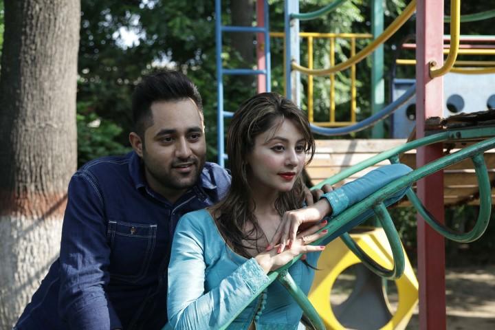 Sukhy Mann with Rupali Sood at Chd Press Club 1 (Small)
