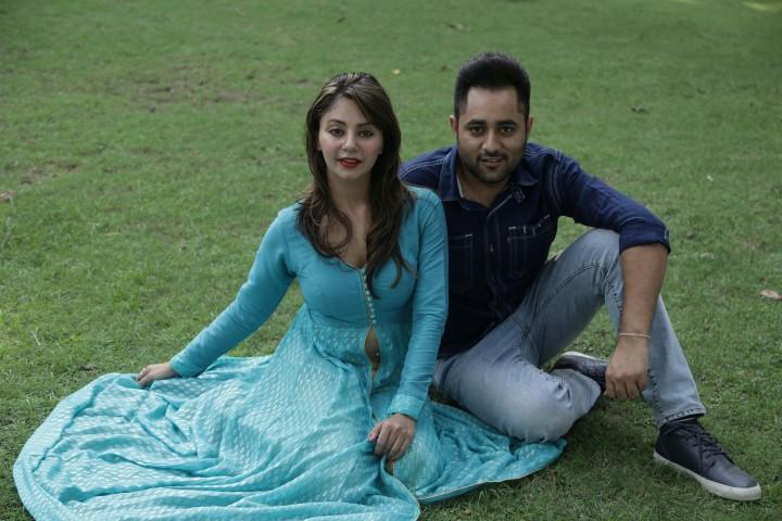 Sukhy Mann with Rupali Sood at Chd Press Club (Small)