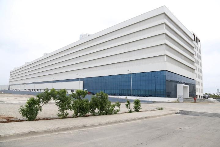 The newly built Vehicle Preparation Centre inaugurated at Chakan facility (Small)