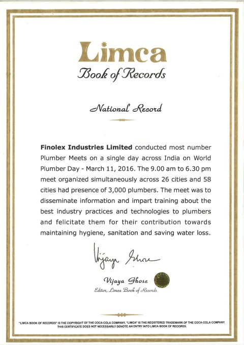limca-book-of-records-certificate-for-finolex-industries-ltd-small