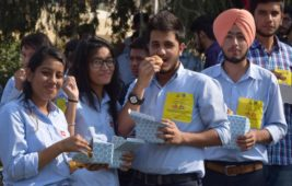 Mobile deals app LITTLE & students at Chitkara University  attempt to feature in the Limca Book of Records