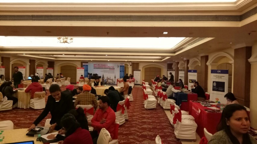 Over 200 number of students participated in IDP multi-destination Education Fair