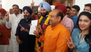 Manjinder Singh Sirsa takes oath in Punjabi language as MLA