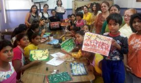 Art workshop held to mark 19th death anniversary of Joy Lall