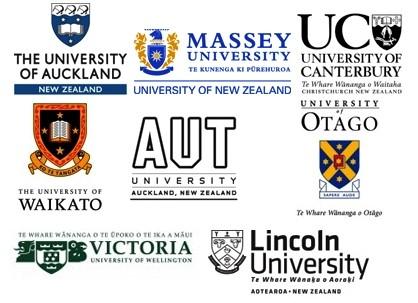 New Zealnad Universities