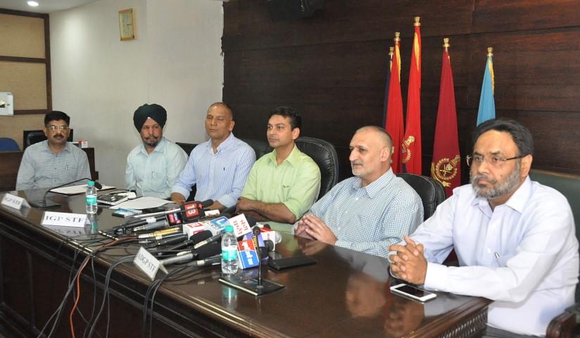 STF arrests Inspector Inderjit Singh for facilitating smuggling and trafficking of narcotics