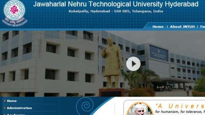 JNTUH B.Tech Results 2017 declared at @jntuhresults.in; Check results here