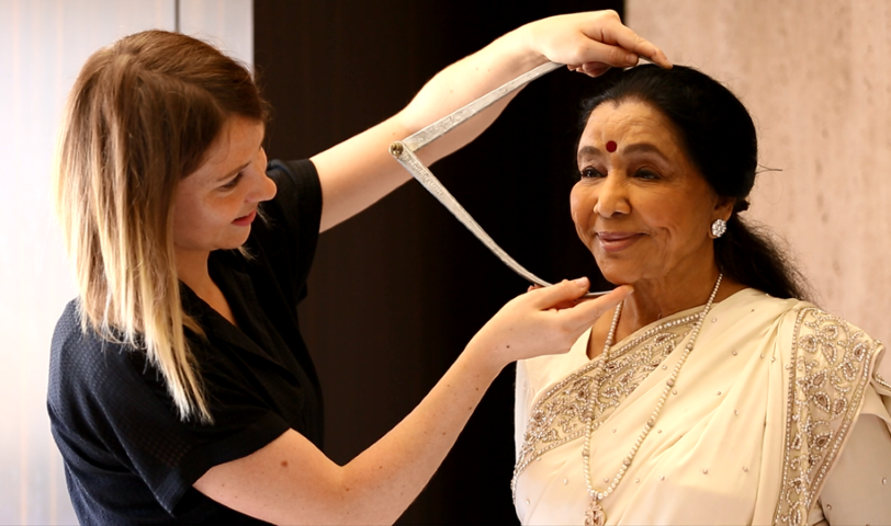 Asha Bhosle to be immortalized at Madame Tussauds