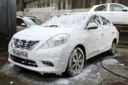 Nissan's innovative car foam wash saves 6.1 million litres of water in India