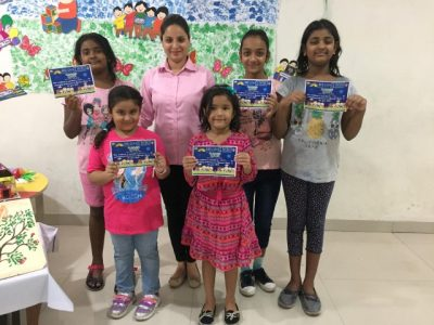 Best out of waste Workshop at Brilliance World School