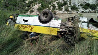 30 killed in deep ditch near Shimla
