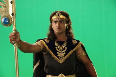 Lord Shaani's role played by Rushiraj Pawar in BIG Magic's Chakradhari Ajaya Krishna
