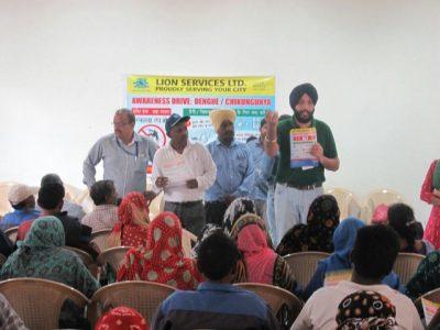 Lion Services organizes anti Dengue & anti Chikungunya awareness week