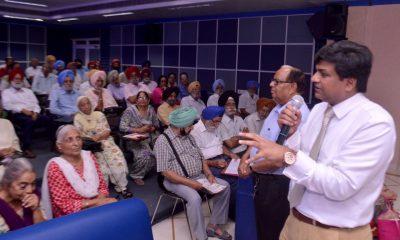 Talk on Urological problems held at Fortis Mohali
