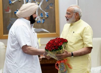 Punjab CM meets PM, seeks Centre's Support for Industrial Development.