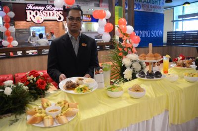 Kenny Rogers Roasters opened its first outlet in Elante Mall