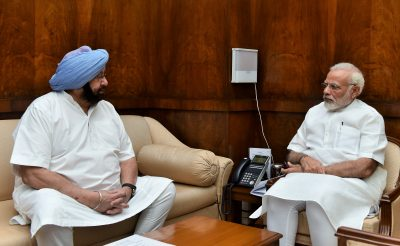 Punjab CM Meets Modi, Jaitley to Seek Support in State Farm Debt Waiver Scheme.