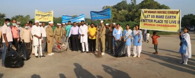 Sant Nirankari Charitable Foundation and Chandigarh Municipal Corporation organise joint Cleanliness Drive