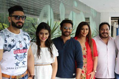 Team of upcoming Punjabi film Kirdar-E-Sardar in tricity for promotion