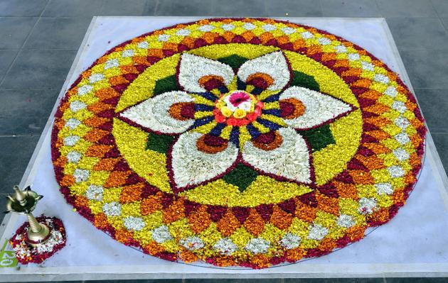 Rangoli Designs for Onam