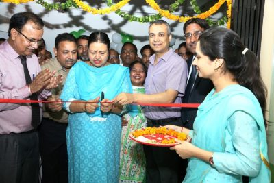 Mayor inaugurates OBC Bank branch in MC office