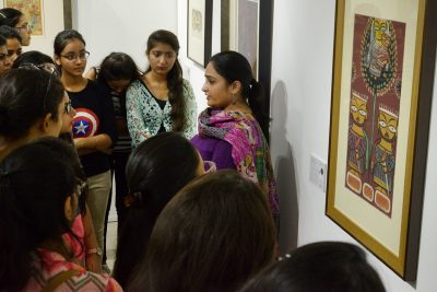 Four Curatorial Art Walks held today by Experts on Modern Indian Art
