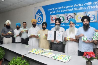 """Verka launches milk with """"Quality Mark"""""""