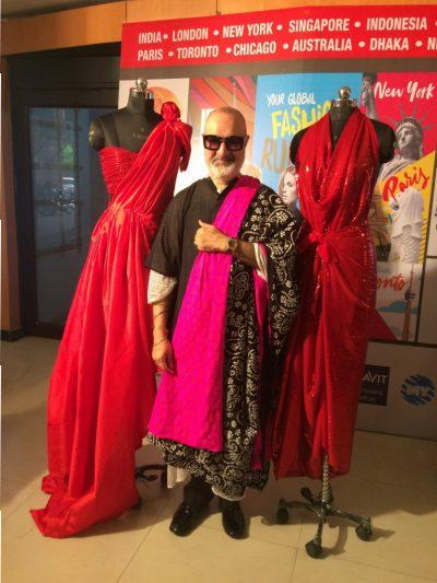Veteran Bollywood Fashion Designer Kawaljit Singh at INIFD Chandigarh