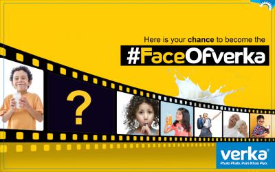 Verka launched #faceofverka contest on social media