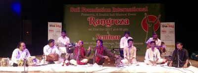 """""""Rangreza""""  A Soulful Sufi Music Evening at Tagore Theatre"""