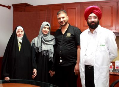 Iraqi patient Returns to Fortis for his mother's treatment