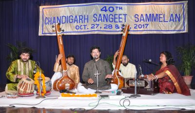 Three-day 40th Chandigarh Sangeet Sammelan starts