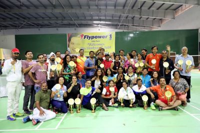 Sudama Badminton Cup 2017 finals : Double Crown for Harjit Singh and Jai Singh