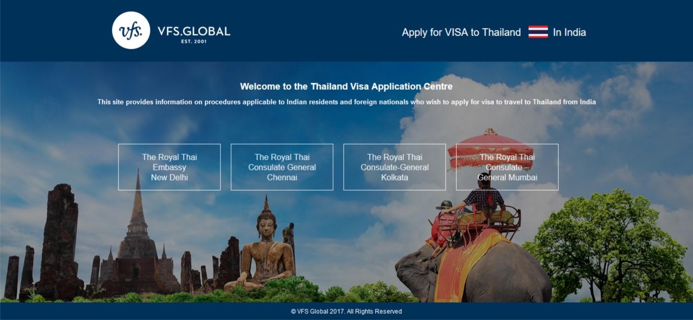 VFS Global brings Thailand visas closer to your doorstep