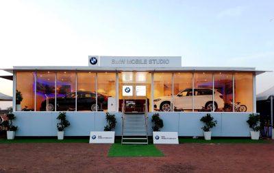 BMW enthralls Karnal with the BMW Mobile Studio